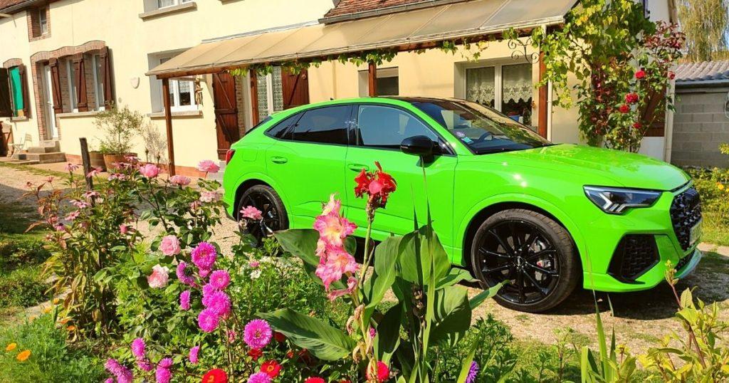 Audi RS Q3 Sportback à la maison de campagne