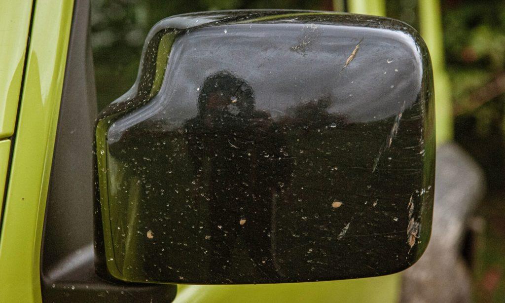 Suzuki Jimny : le rétroviseur