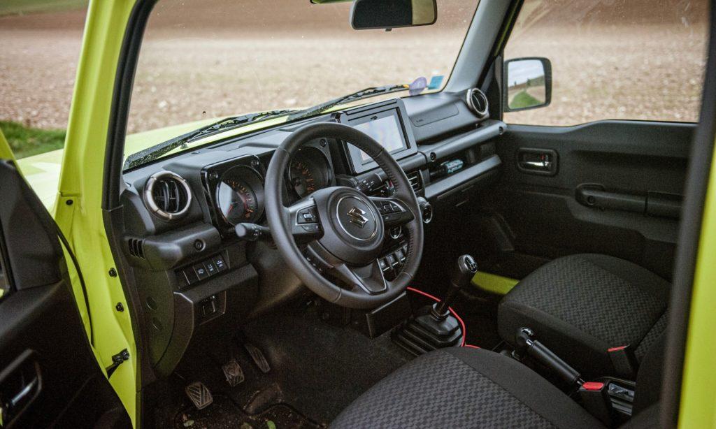 Suzuki Jimny : l'intérieur