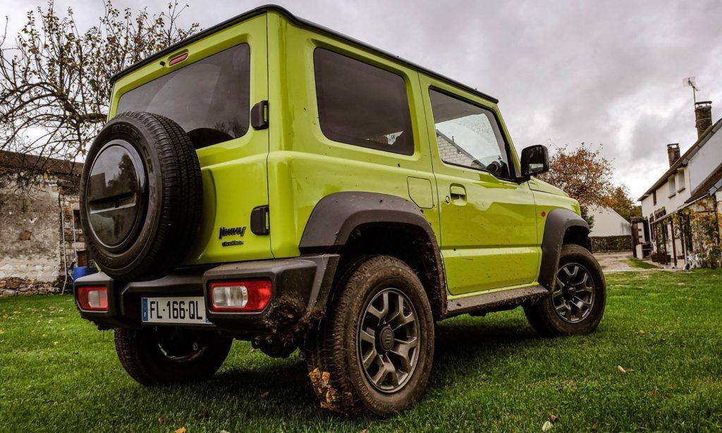 Suzuki Jimny : 3/4 arrière