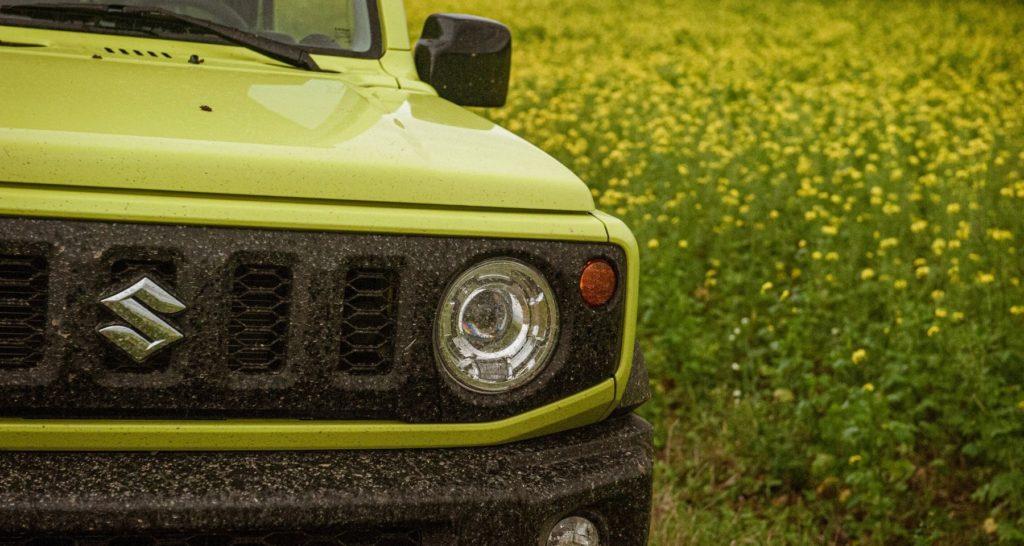La calandre du Suzuki Jimny