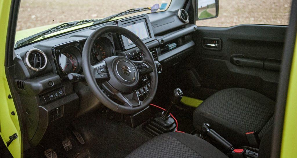 L'intérieur du Suzuki Jimny